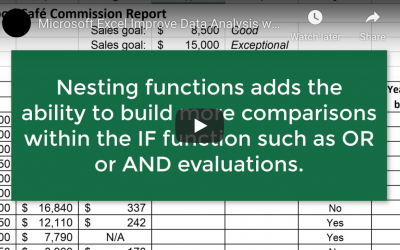Top Tips for Improving Data Analysis with the IF Function in Microsoft Excel