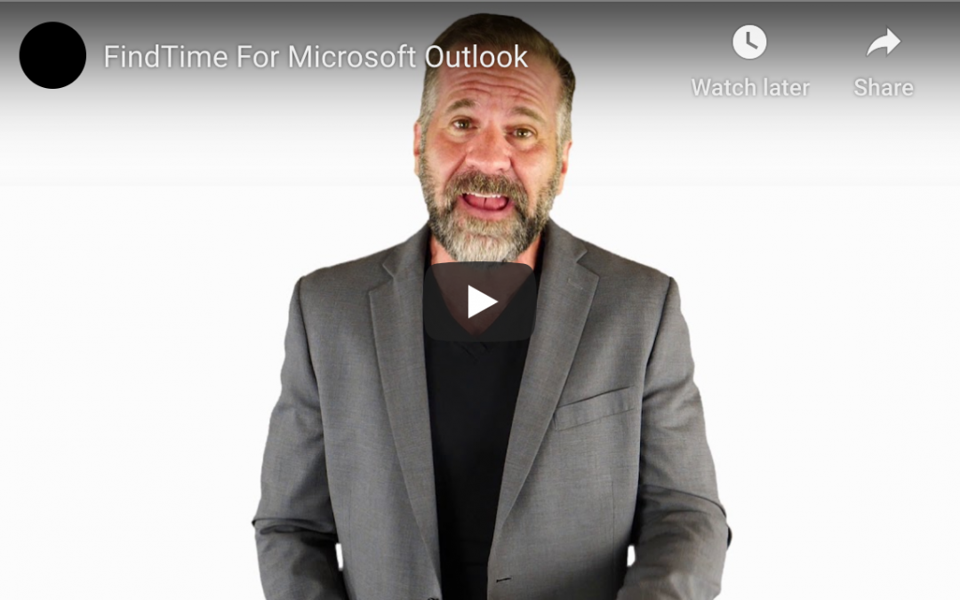 Microsoft Outlook:  FindTime With Colleagues